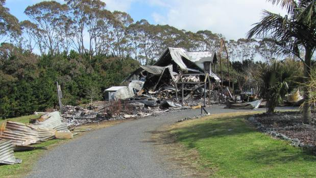 Chris Robinson's Killara Luxury Lodge was utterly destroyed by fire on September 9 2011