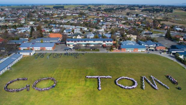 Former pupil Tom Walsh intends to visit Timaru Boys' High School to thank the students and staff for their support when ...