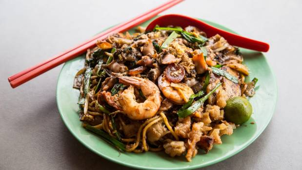 Char kway teow = a big old, delicious mess.