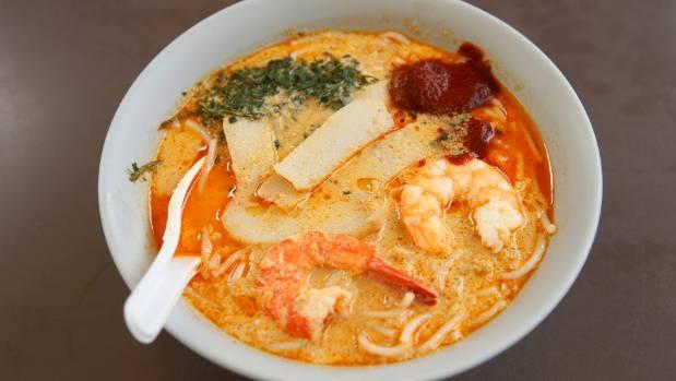 Laksa is comfort food, Singapore style.