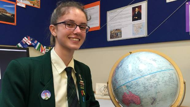 St Oran's College student Abby Martin, from Trentham, was a finalist in the national spelling bee for the second time in ...