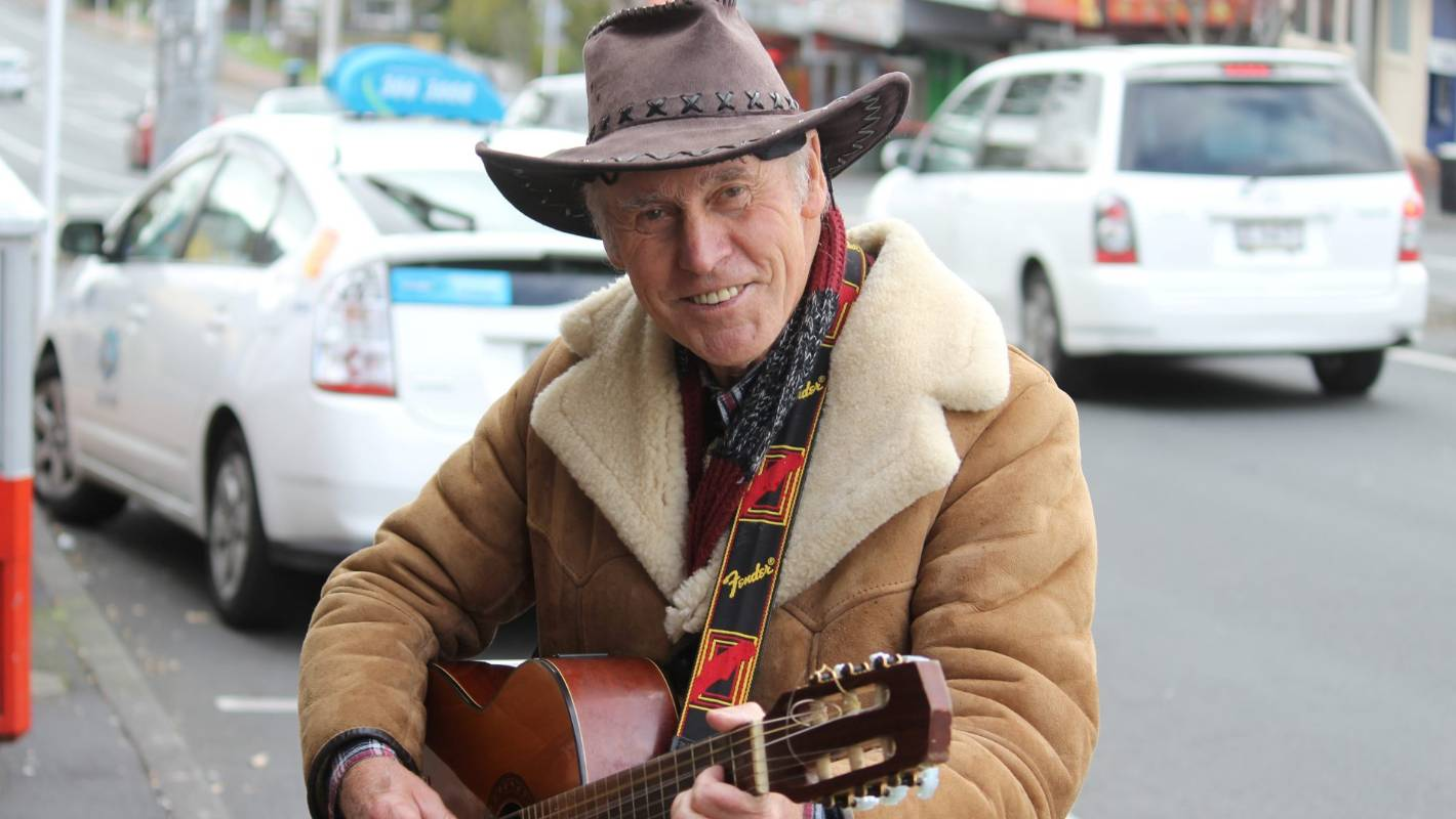 Singing Cowboy Jock Hume To Hang Up Boots And Guitar