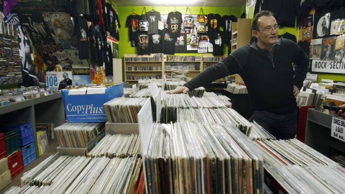 Internal Strife At Struggling Christchurch Record Shop