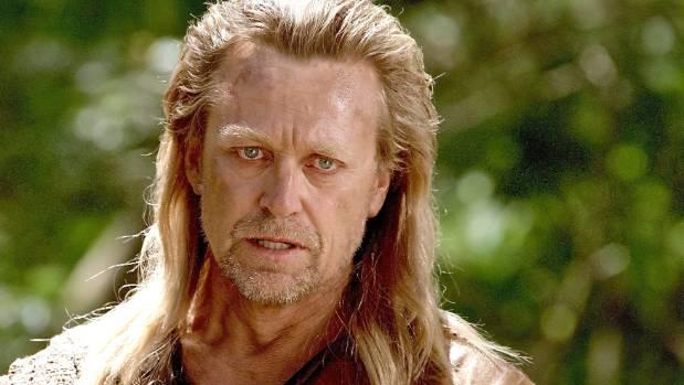 Michael Hurst performs in Hercules.