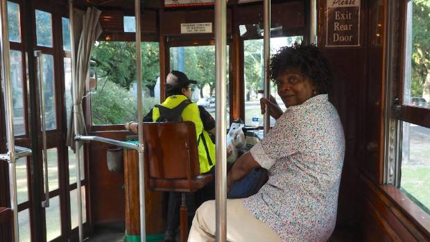A ride on the St Charles streetcar through the Garden District is a fine way to do some leisurely sightseeing.