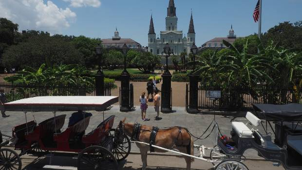Jackson Square is the heart of New Orleans.