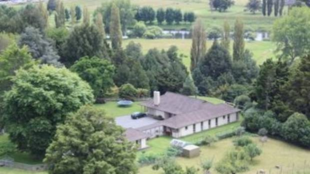 This large lifestyle block, complete with a flock of sheep, is for sale for about $1 million, near Ruapehu.
