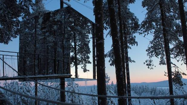 Treehotel, Lulea, Sweden.