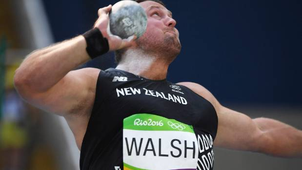 Tom Walsh earned a bronze medal for New Zealand at the Rio Olympics.
