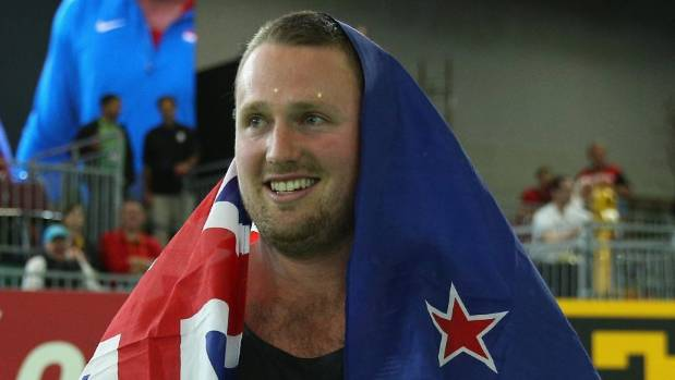 Tom Walsh's stellar year included a gold at the world indoor championships in Portland, USA.