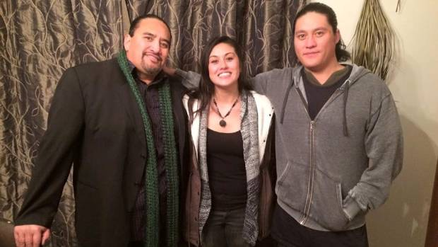Warena Thompson, 27, right, took his own life in January this year. His father Hemi Te Hemi, left, will speak about the ...