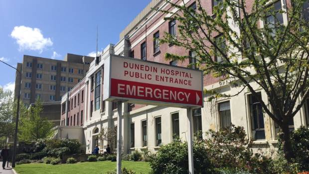 """""""I know Dunedin Hospital is broke, but that's not my fault,"""" says Mair."""