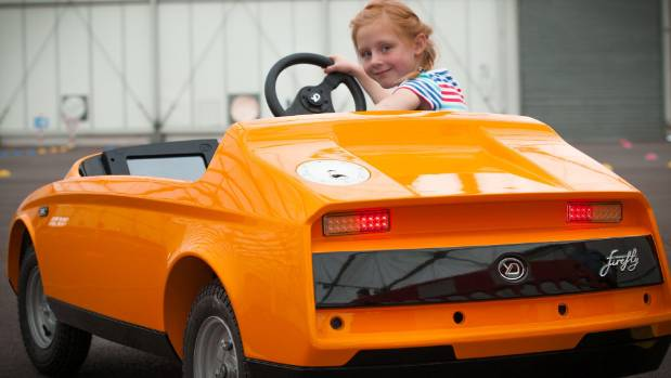 Electric Firefly Puts Five Year Olds In The Driver S Seat Stuff