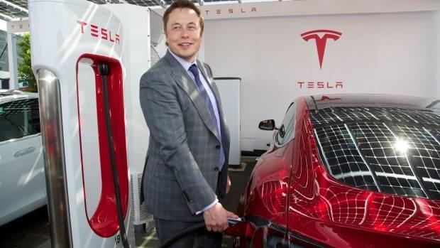 Tech entrepreneur Elon Musk is a major shareholder in Tesla.