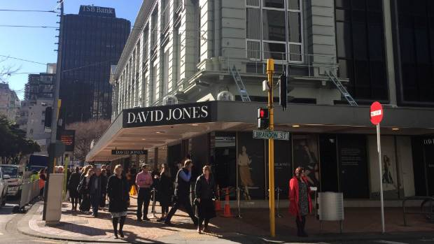 David Jones, 165 Lambton Quay, along with the Kirks tower, is on the council's list of about 80 buildings.