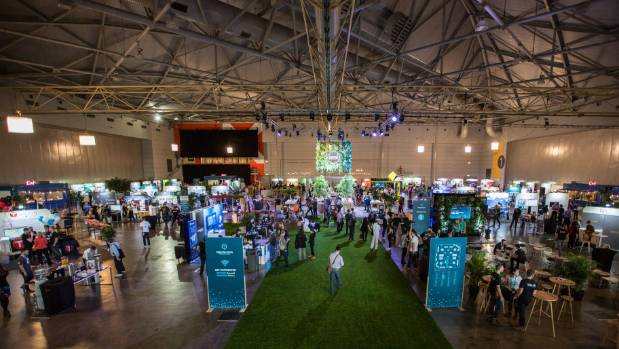 Xero partners show exhibit their wares in Brisbane.