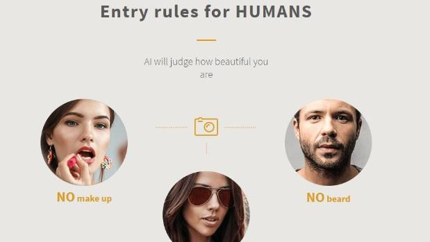 The artificial intelligence beauty contest attracted 6000 entrants from around the world.