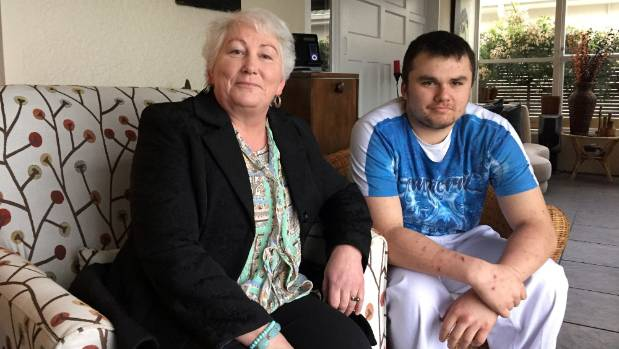 Kim Milne says fetal alcohol spectrum disorder sufferers such as her 15-year-old son, David, need more support.