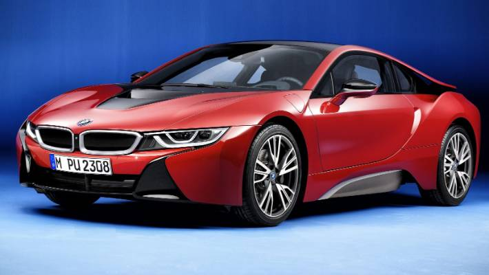 Here S A Very Special Bmw I8 It Red