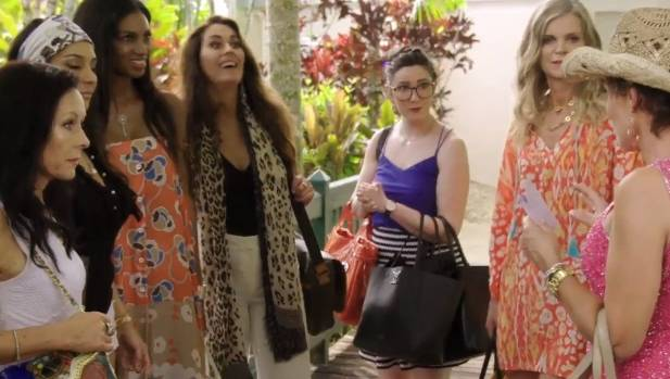 The Real Housewives of Auckland holiday in Port Douglas, where a racial incident blows up.