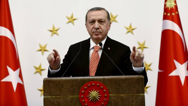 """Turkish President Tayyip Erdogan describes a """"mastermind"""" or """"supreme intellect"""" who is secretly pulling the strings in ..."""