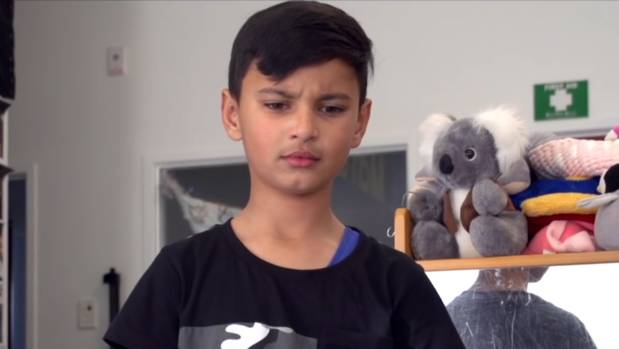 Xavier plays a Maori boy who experiences racism in the University of Auckland's video project