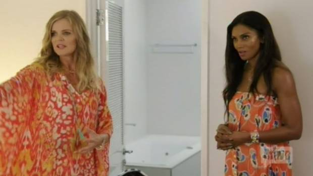 Tensions were high as soon as the Real Housewives hit Australia, as they squabbled over rooms.