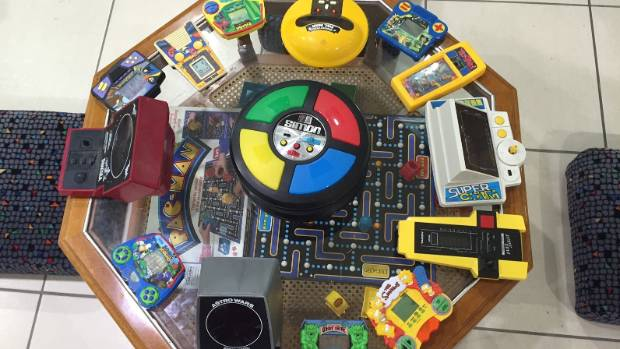 Simon Says joined by other handheld classic games.