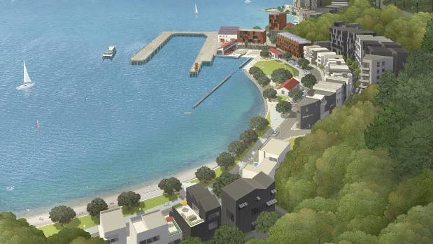 The development would be a joint venture between the Port Nicholson Block Development Trust and The Wellington Company.