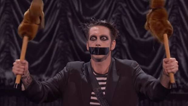World famous Kiwi performer Tape Face will return to his hometown, Christchurch, for the Buskers Festival next year.