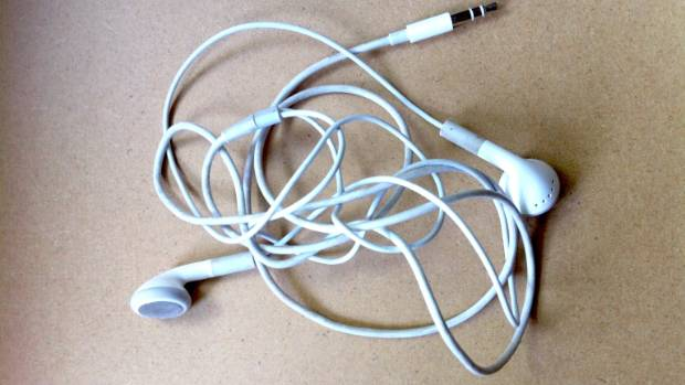 Earbuds long cord - headphone iphone cord