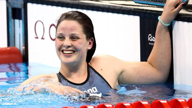 Rebecca Dubber finished fourth in the final of the women's 400m freestyle S7.