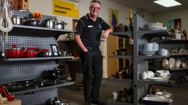 After 12 years at Ballantynes, Peter Black is committed to creating an up market op shop like no other.