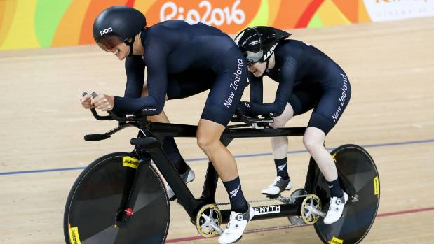 Emma Foy and Laura Thompson narrowly missed out on a second medal of the Games.