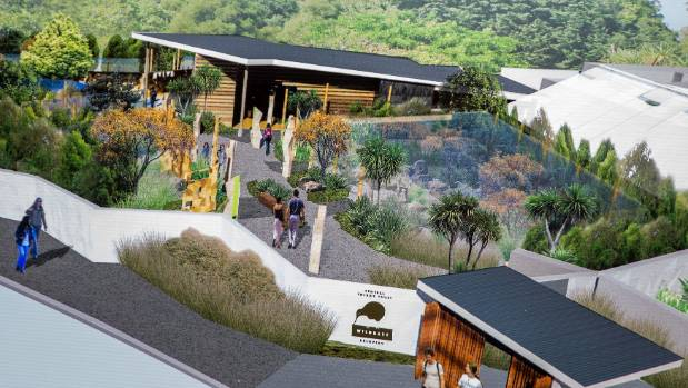 Development of the Central Energy Trust Wildbase Recovery aviaries at Victoria Esplanade will be a major feature of the ...