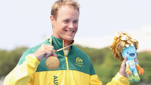 Curtis McGrath has delivered on his promise to win a gold medal.