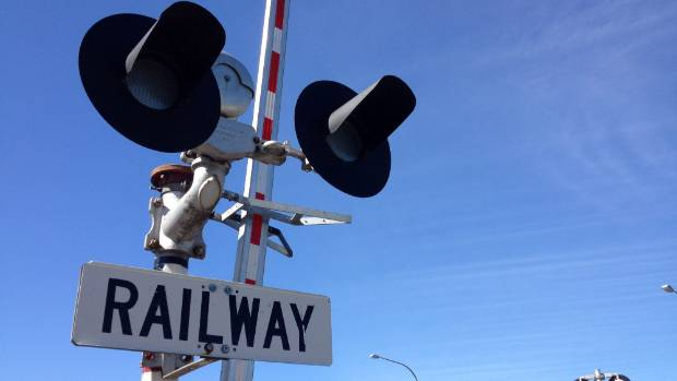 Emergency Services were called to the Ruru Rd railway crossing just off State Highway 1. (File photo)
