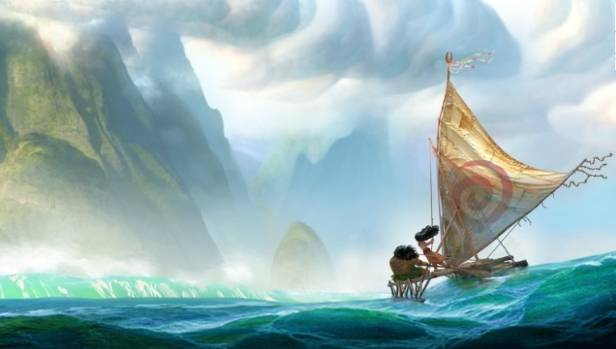 """Due for a 2016 Boxing Day New Zealand release, Moana is billed as a South Paciifc """"mythic adventure"""" set 2000 years ago."""