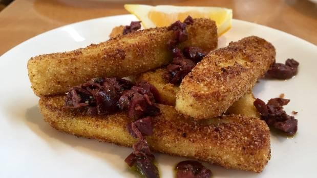Chickpea fries at Nikau Cafe, Wellington