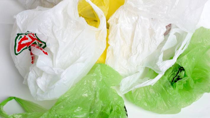 Support for plastic bag levy, environmental clean-up and