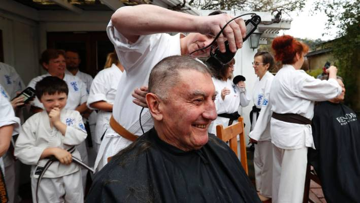 Karate Master Gets Chop For Charity Stuff