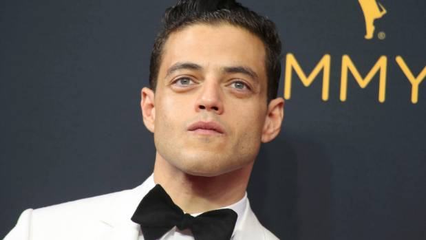 Actor Rami Malek from the USA Network series Mr. Robot.