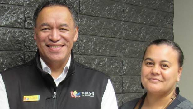 Trenton Martin and Glenarr Huntley have helped develop the Te Raukura training programme for Tui Ora.