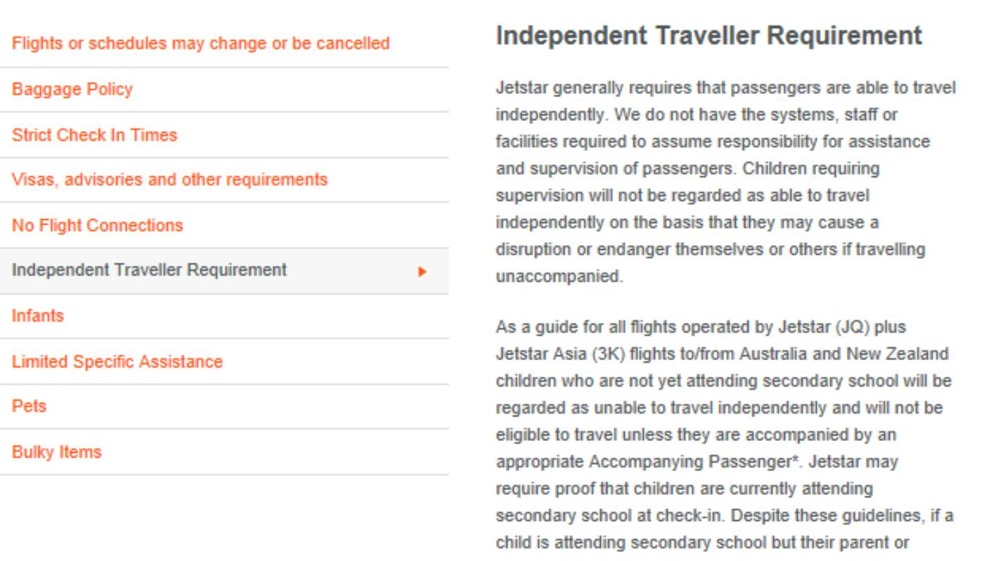 13 Year Old Stranded Alone After Jetstar Refuses To Let Him Board