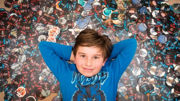 Tristan Stowell has been collecting Star Wars merchandise and will be donating completed sets children hospitals.