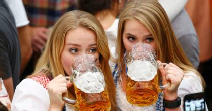 If you're toasting in Germany, make sure you maintain eye contact with your fellow drinkers.