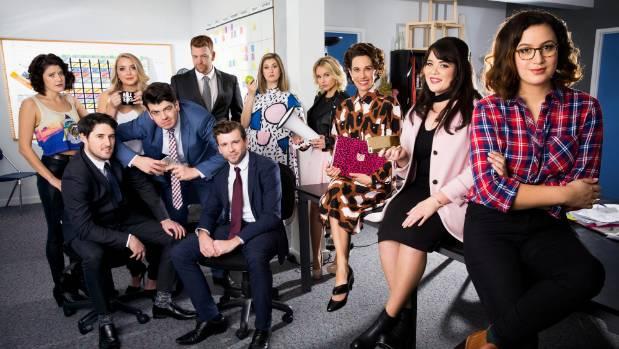 The cast of Funny Girls, season 2.