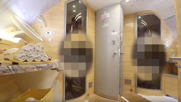 Inside The First Class Emirates Shower Spa