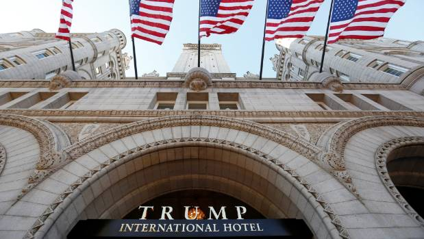 Trump added a hotel in Washington DC to his business empire last September.