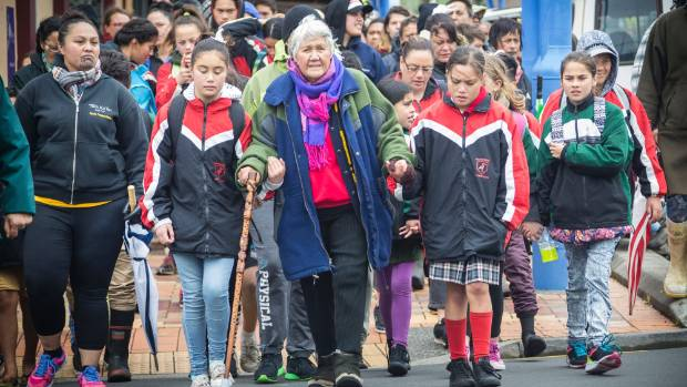 In September, about 200 took part in the Peace for Pekapeka walk in Waitara to protest against the bill.